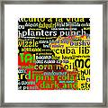 Rum Not Just Your Pirates Drink Anymore 20130627 Long V2 Framed Print