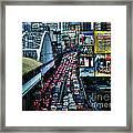 Rush Hour Manila Philippines Framed Print