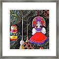 Russian Christmas Tree Decoration In Fredrick Meijer Gardens And Sculpture Park In Grand Rapids-mi Framed Print
