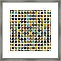 Rustic Rounds 225 Framed Print
