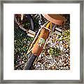 Rusty Bike Bumper Framed Print