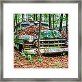 Rusty Caddy 4 Framed Print