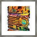 Rusty Old Truck Framed Print