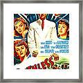 Ruthless, Us Poster, Zachary Scott Framed Print