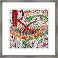 Rx Art Prescription By Faraz Khan Framed Print