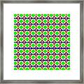 Rygb Squarecirclearcfilled Framed Print