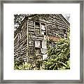 Saddle Store 2 Of 3 Framed Print by Jason Politte