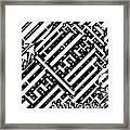 Sagittarius Maze  Framed Print