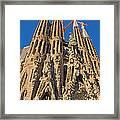 Sagrada Familia In Barcelona Framed Print