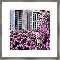 Saint Remy Windows Framed Print