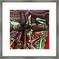 Samburu Women Dancing Kenya Framed Print