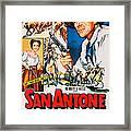 San Antone, Us Poster Art, From Left Framed Print