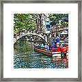 San Antonio River Walk Framed Print