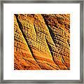 Sandstone Of Time Framed Print