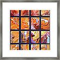 Sandstone Sunsongs Golden Oldies Photo Assemblage Framed Print