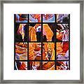 Sandstone Sunsongs Shuffle Assemblage Framed Print