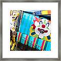 Santa Cruz Boardwalk Carousel Framed Print by Shane Kelly