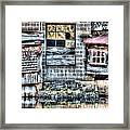 Saw Mill Reflections Framed Print
