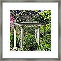 Sayen Garden Dream Framed Print