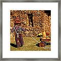 Scarecrows Play Too Framed Print