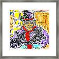 Scrooge And Scotties Framed Print