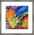 Sea Garden Framed Print
