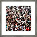 Sea Of People Framed Print by Glenn McCarthy Art and Photography