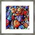 Sea Shell Abstract Framed Print