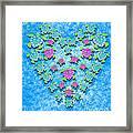 Sea Turtle Love Framed Print
