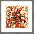 Seafood Extravaganza Framed Print