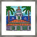 Seahorse Key Lighthouse Framed Print