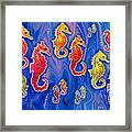 Seahorse March Framed Print