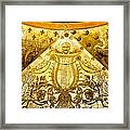 Section Of Rotunda In Ponce De Leon Hall Framed Print