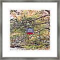 See Rock City Framed Print