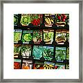 Seed Packets Framed Print