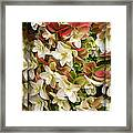 Seeing Double - Hydrangeas Framed Print