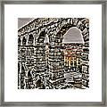 Segovia Aqueduct - Spain Framed Print