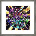 Sense Creation Five Framed Print