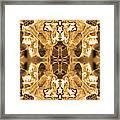 Sepia Bag Fairies 1 Framed Print