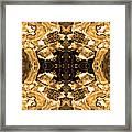 Sepia Bag Fairies 3 Framed Print