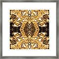 Sepia Bag Fairies 4 Framed Print