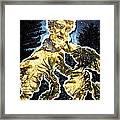 Serra In The Garden Framed Print