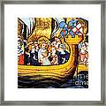 Seventh Crusade 13th Century Framed Print