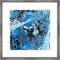 Shadows Under Ice Framed Print