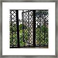 View Through Shakespeare's Window Framed Print