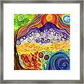 Shasta Bubble Framed Print