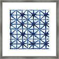 Shibori Iv Framed Print