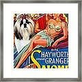 Shih Tzu Art - Salome Movie Poster Framed Print