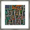Ship Engine Framed Print