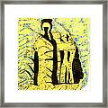 Shroud Of Jesus Framed Print